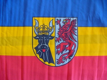 Flagge Mecklenburg-Vorpommern 150x90 cm