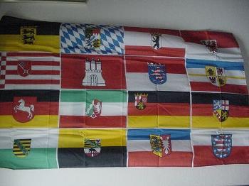 Flagge D-16 Bundesländer 150x90 cm