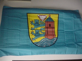 Flagge Flensburg 150x90 cm