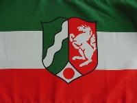 Flagge NRW 90x60 cm