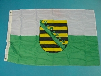 Flagge Sachsen 60x90 cm