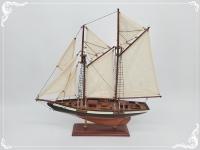 Segler 2 Masten ca.50 cm Holz