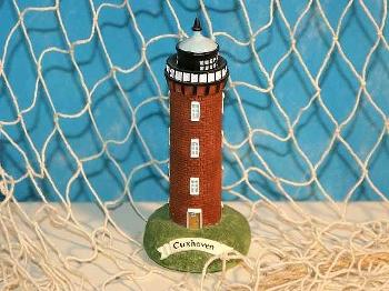 Leuchtturm Cuxhaven 11cm Polystone