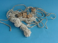 Fischernetz natur mit Korken ca. 250x150 cm