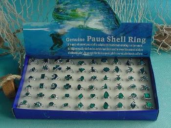 Ring Paua 30s 60er Display