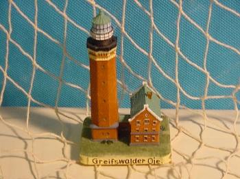 Leuchtturm Greifswalder Oie 11 cm Polystone