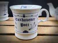Herrenbecher Indisch Blau Cuxhavener Pott Innen=Ebbe Flut