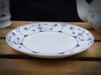 Teller Indisch Blau ca.17cm Porzellan