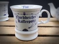 """Herrenbecher Ind.Blau """"Norddeicher Kaffeepott"""""""
