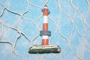 Magnet Wangerooge neuer Turm ca. 6,5cm Polystone