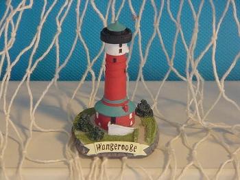 Leuchtturm Wangerooge ca. 6 cm Polystone
