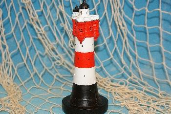 Leuchtturm Roter Sand Blinklicht ca.15cm Poly