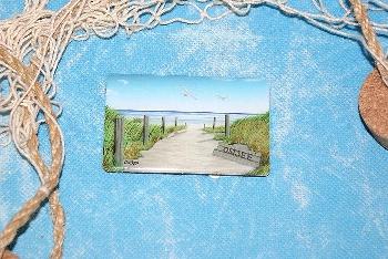 Foto Magnet Ostsee ca. 8x5 cm