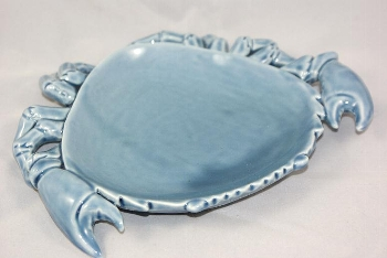 Grayline Keramik Platte Krebs ca.20x16cm