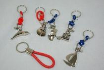 Schlüsselanhänger 6-fach sort. ca.7cm sortiert