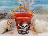 Pirateneimer ca.Q17x16cm Kunststoff