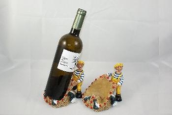 Flaschenhalter ca.14x11x12cm Polystone