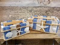 Treibholz Box 2er Set ca.30x12x23cm