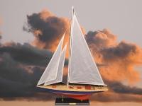Segelboot ca.68x10x90cm