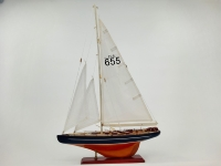 Segelboot ca.40x9x61cm