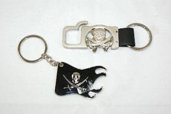 Schlüsselanhänger/Flaschenöffner Pirat ca.6cm