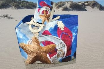 Tasche mit kleiner Tasche Beach Nylon +