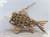 Treibholz 2020 Fisch ca. 40x25cm