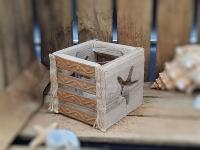 Treibholz 2020 Teelichthalter ca. 11x11cm