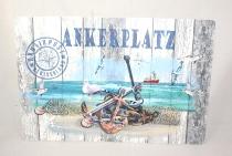 Platzset Ankerplatz ca.45x30cm