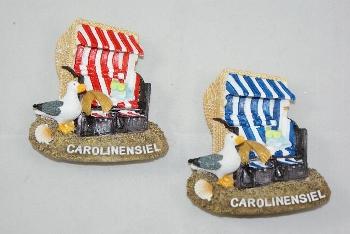 Magnet Strandkorb Carolinensiel