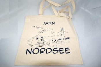 Baumwolltragetasche Moin Nordsee