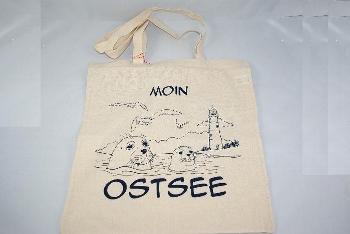 Baumwolltragetasche Moin Ostsee