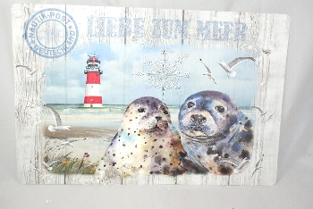 Platzset Liebe zum Meer ca.43,5 x 28,5cm