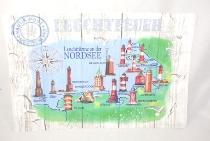 Platzset Leuchttürme der Nordsee ca.43,5 x 28,5cm