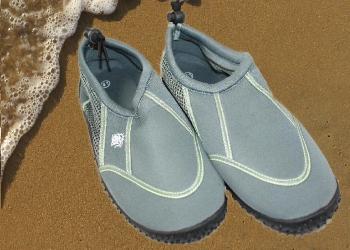 Aqua Socks grau Größe 45