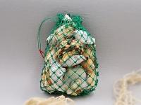 Muschelbeutel Netz klein ca. 230 gr.