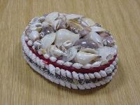 Muschelkasten oval 13cm