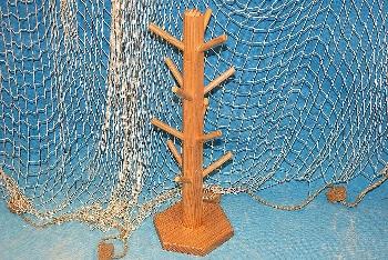 Ständer für Schlüsselanhänger Holz ca.46x14cm
