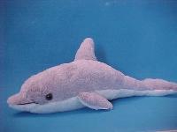 Delphin grau ca.42cm Plüsch
