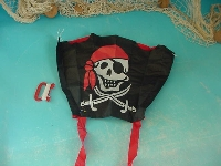 Pocket Sled Jolly Roger ca. 43x33 cm