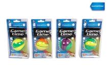 Springball an Schnur 63mm 4 Neon Farben sort.