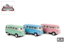 VW Bus Classic 1962 4sort. ca.7cm Metall