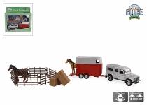 Land Rover Pferdeanhänger Set 26cm