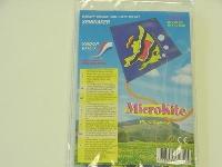 Micro Kite Fisch ca. 25x25 cm