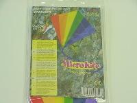Micro Kite Regenbogen 1 ca. 25x25 cm