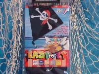 Micro Kite Pirat Easy to Fly ca. 25x25 cm