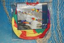 Windsack Mini Rainbow Spinner 3er ca.170 cm